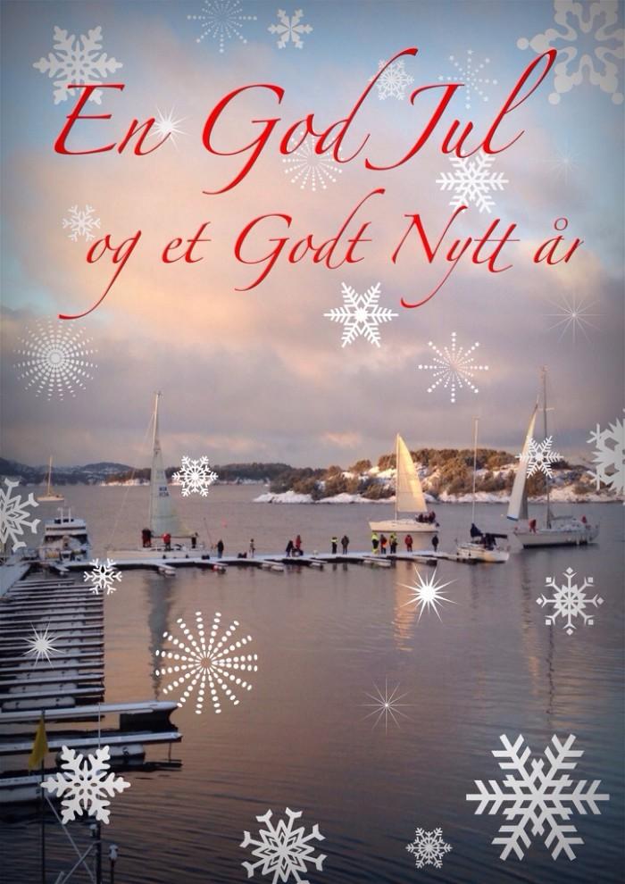 Julehilsner fra Hjellestad Seilforening