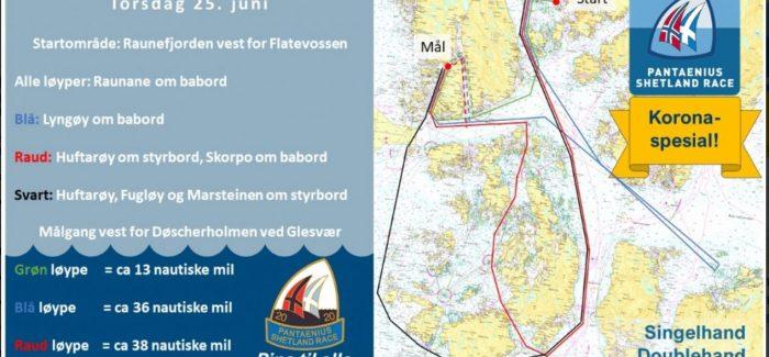 Kortreist Shetland Race i år