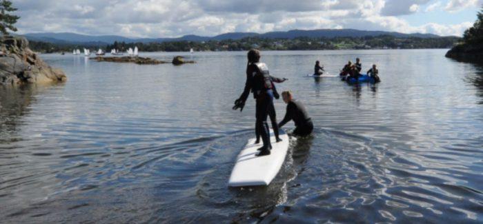 Gøy på vannet! Seil og vannaktiviteter 5-9 august