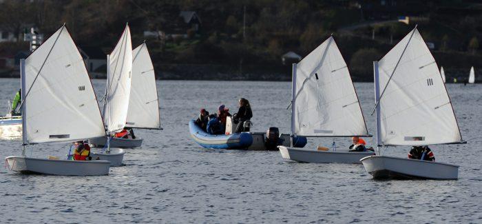 Helgekurs i seiling for barn (7-9 år) i juni