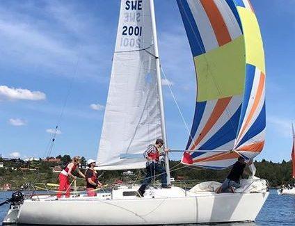 Begynnerkurs i seiling for voksne 7. august